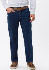 BRAX - STYLE LUKE - Straight leg jeans - blue stone - 0