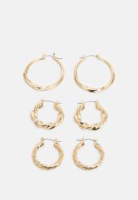 LIARS & LOVERS - MOTLEN HOOP 3 PACK - Pendientes - gold-coloured - 1