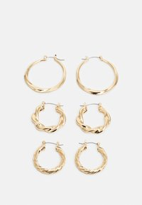 MOTLEN HOOP 3 PACK - Pendientes - gold-coloured