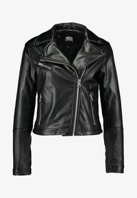 Urban Classics - LADIES BIKER - Veste en similicuir - black - 4
