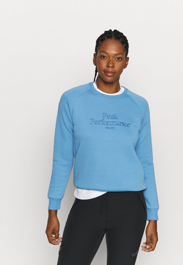 ORIGINAL CREW - Sweatshirt - blue elevation
