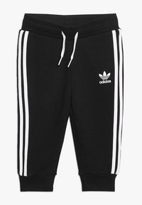 adidas Originals - TREFOIL HOODIE SET UNISEX - Dres - black/white - 2