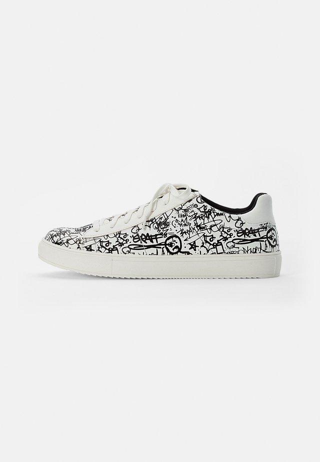 UNISEX - Sneakers basse - white black