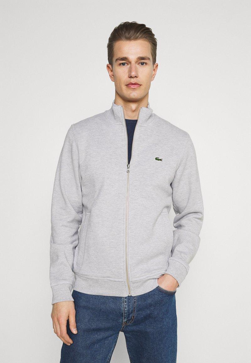 Lacoste - Zip-up sweatshirt - gris chine