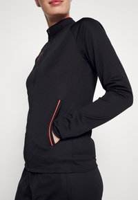 Nike Performance - ACADEMY 21 TRACKSUIT - Tracksuit - black/bright crimson - 6