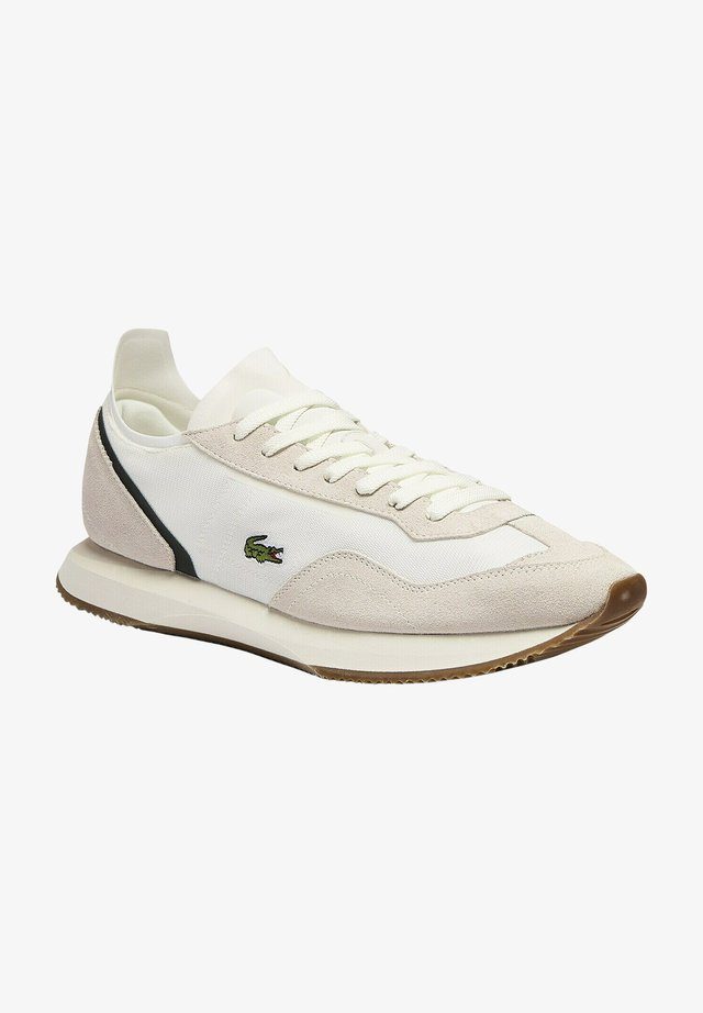 41SMA0040 - CHAUSSURES / SNEAKERS ATHLEISURE HOMME - Sneakers laag - off wht/dk grn