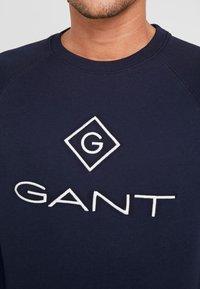 GANT - LOCK UP CREW NECK - Sweatshirt - evening blue - 4