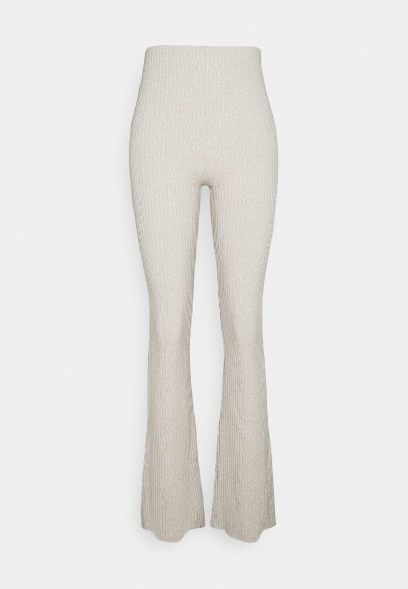 Gina Tricot Tall - BEATA TROUSERS - Pantalones - beige melange
