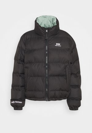 REVERSIBLE PUFFER JACKET - Winter jacket - black