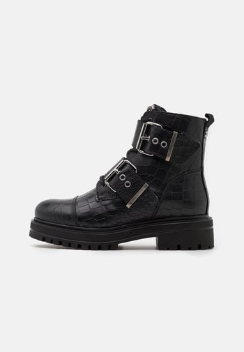 MIMI - Lace-up ankle boots - black