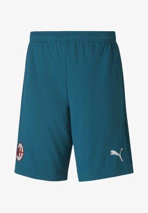 AC MAILAND TRAINING SHORTS - Sports shorts - deep lagoon