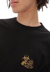 Vans - MN DARK TIKI LS - Long sleeved top - black - 2