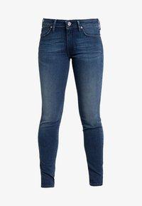 Lee - SCARLETT - Jeansy Skinny Fit - mottled blue - 4