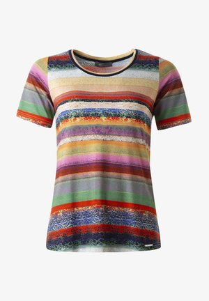 T-shirt med print - applegreen