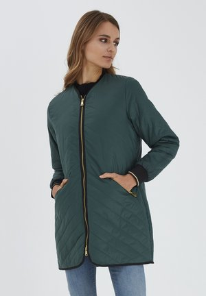 BYBERTA  - Winter coat - jungle green