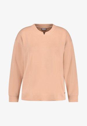 Sweatshirt - light tannin brown