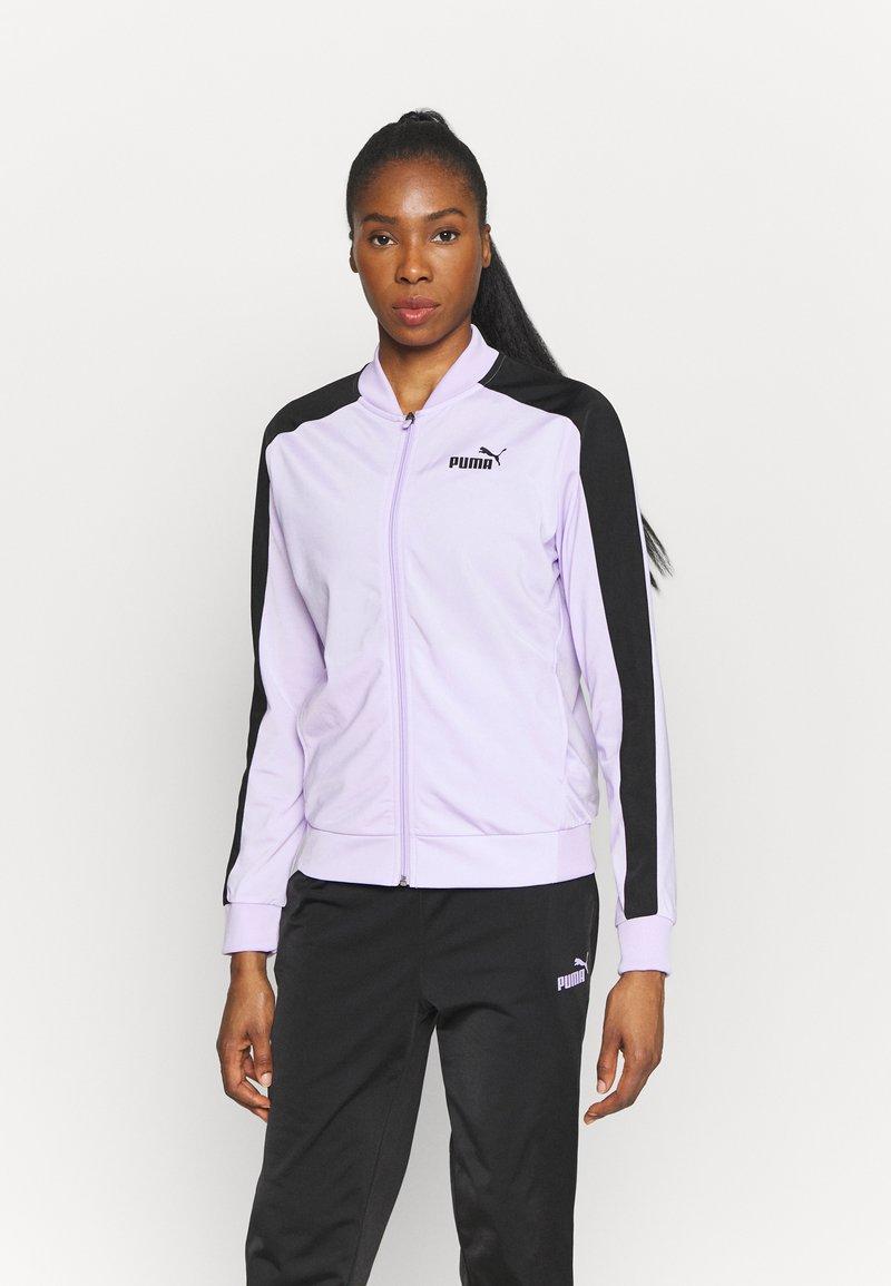 Puma - BASEBALL TRICOT SUIT  - Survêtement - light lavender