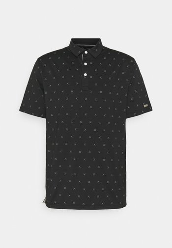 DRY FIT PLAYER X CLUB  - Polo - black/brushed silver