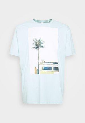 SURF - Print T-shirt - hellblau