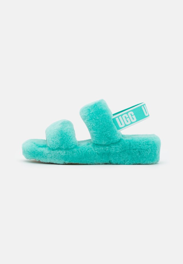 OH YEAH - Korkeakorkoiset sandaalit - tide pool