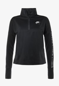 Nike Performance - TOP MIDLAYER AIR - T-shirt de sport - black/white - 4