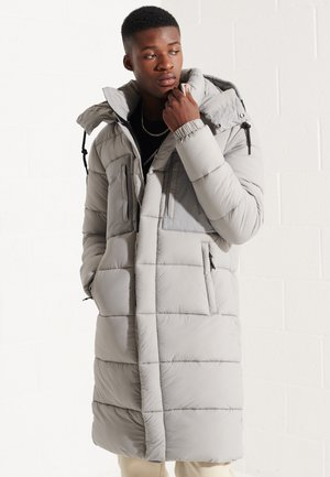 TOUCHLINE - Winter coat - football grid dove grey