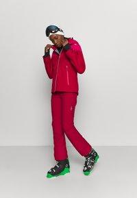 CMP - WOMAN  - Pantalón de nieve - magenta - 1