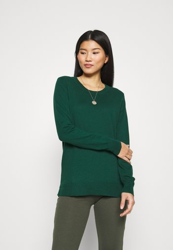 CREW - Jumper - pine green