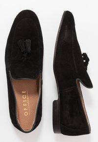 Office - MANTA LOAFER - Scarpe senza lacci - black - 1
