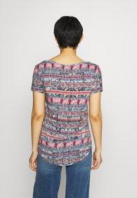 Desigual - T shirt SANTORINI - T-shirt imprimé - blue - 2