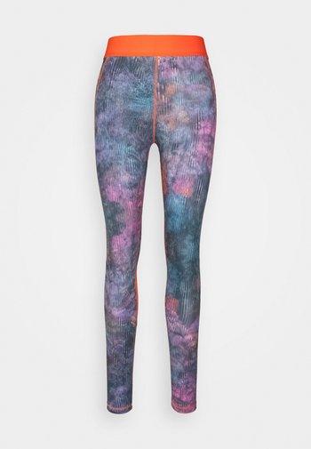 FLORAL - Leggings - multicoloured