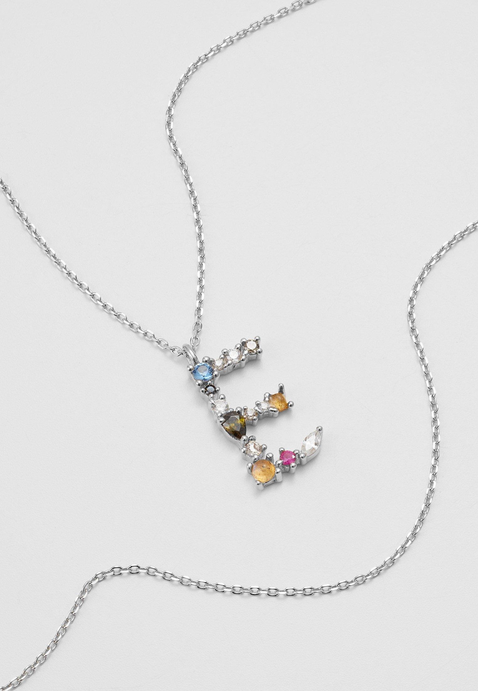 Cool Get Accessories P D Paola LETTER NECKLACE Necklace silver js9vmHRsl 3EHoqAMgZ