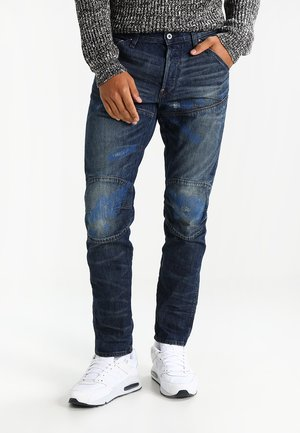 5620 3D TAPERED SLIM - Džíny Slim Fit - hawking denim