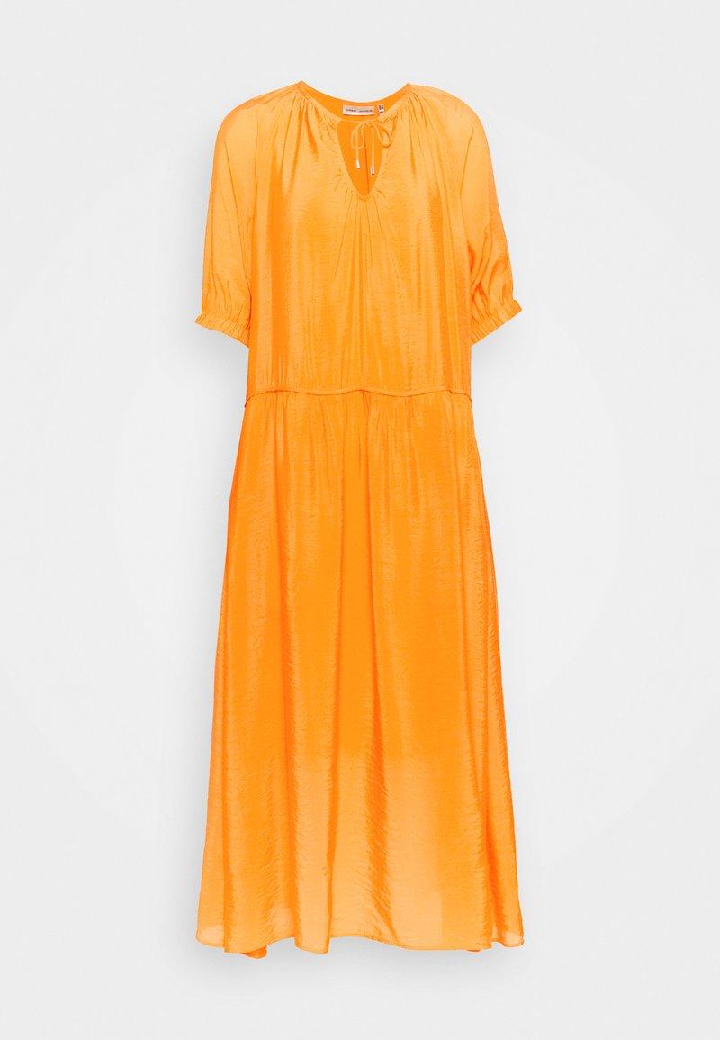 InWear - HAZINI DRESS - Maxi dress - vibrant orange