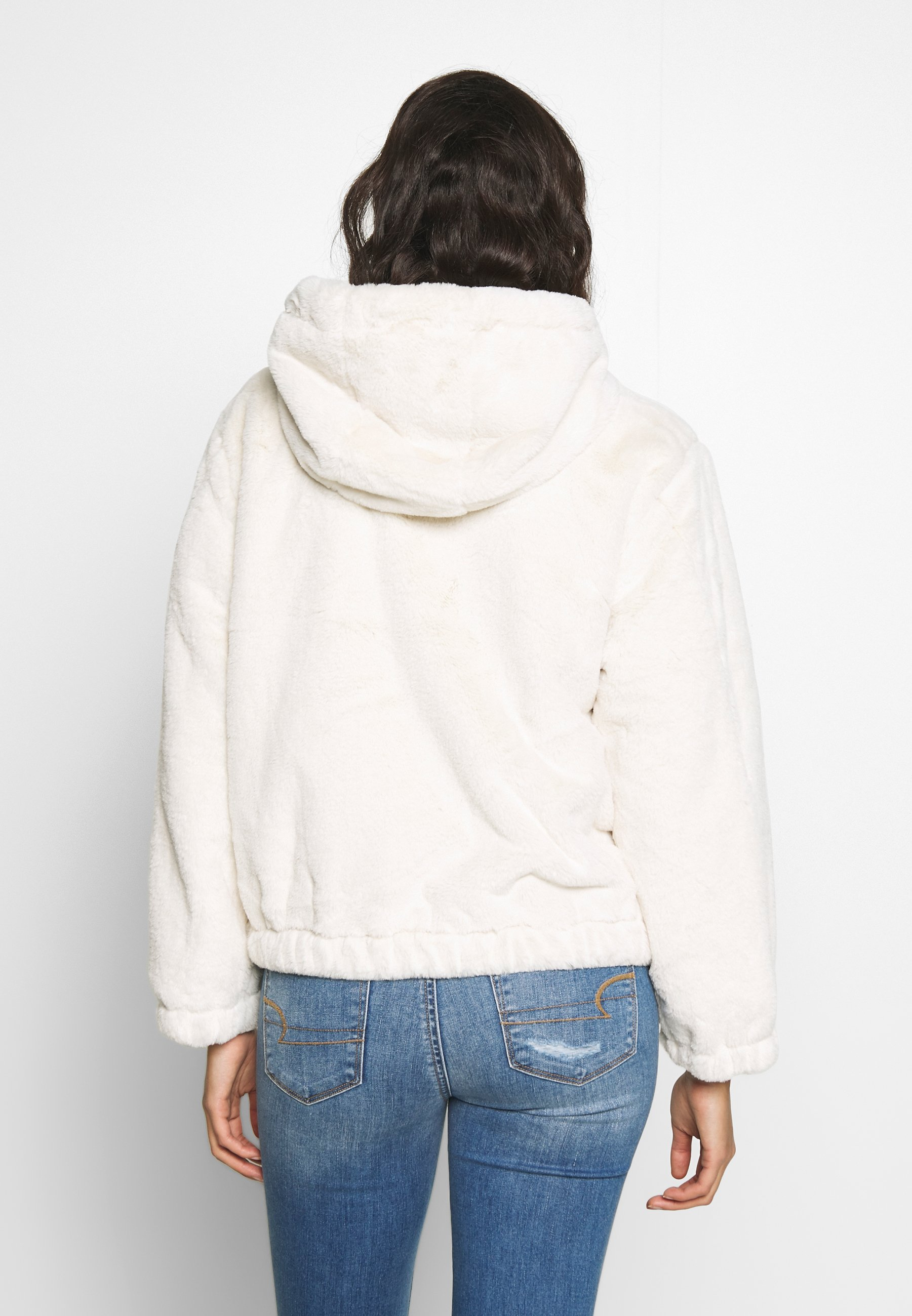 American Eagle JACKET - Vinterjakke - cream