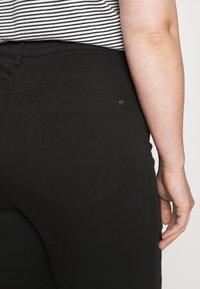 Forever New Curve - BIANCA RIP SKINNY - Jeans Skinny Fit - forever black - 4
