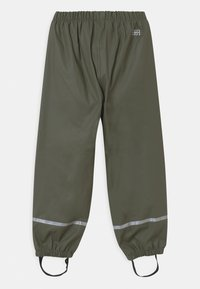LEGO Wear - POWAI UNISEX - Pantalones impermeables - dark green - 1