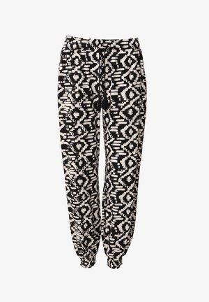 RADHAA - Trousers - black