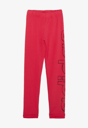 ESSENTIALS SPORTS - Legginsy - power pink/black