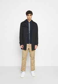 Marc O'Polo - JACKET WITH ZIP - Cardigan - total eclipse - 1