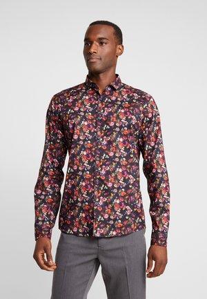 FLORAL SHIRT - Shirt - navy