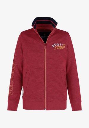 B-DERO JUNIOR - Sweater met rits - red mel