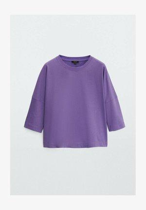 Sweatshirt - dark purple