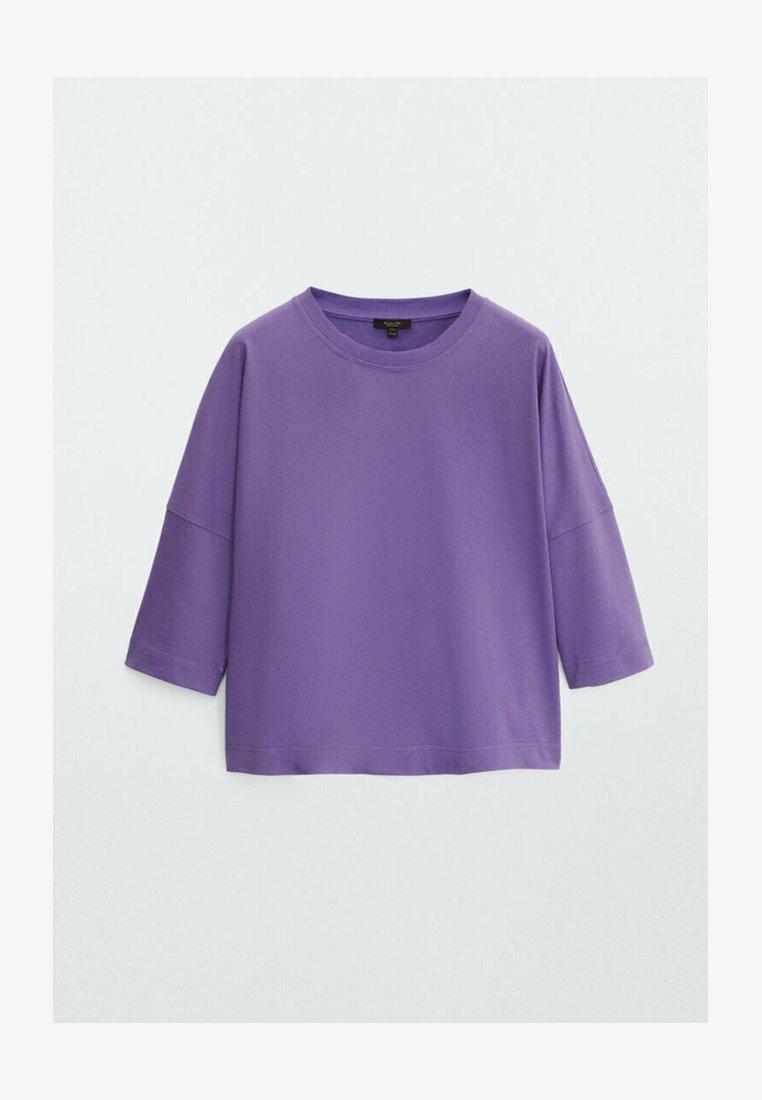 Massimo Dutti - Sweatshirt - dark purple