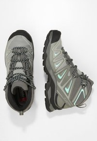 Salomon - X ULTRA 3 MID GTX  - Outdoorschoenen - shadow/castor gray/beach glass - 1