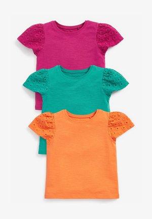 3 PACK  - Triko spotiskem - multi-coloured