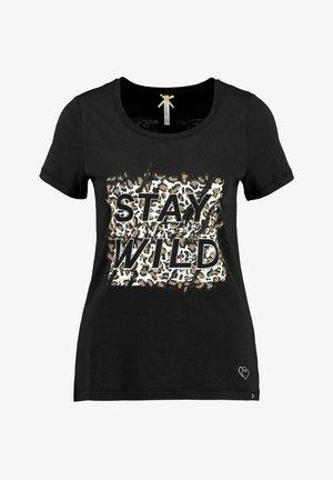 WT SURVIVOR - Print T-shirt - schwarz
