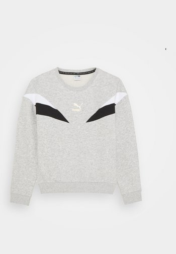 CREW - Sweatshirt - light gray heather