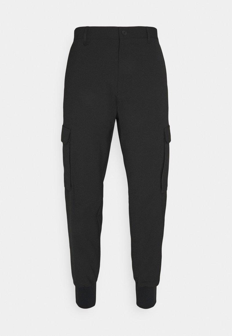 HUGO - GLAVIN - Reisitaskuhousut - black
