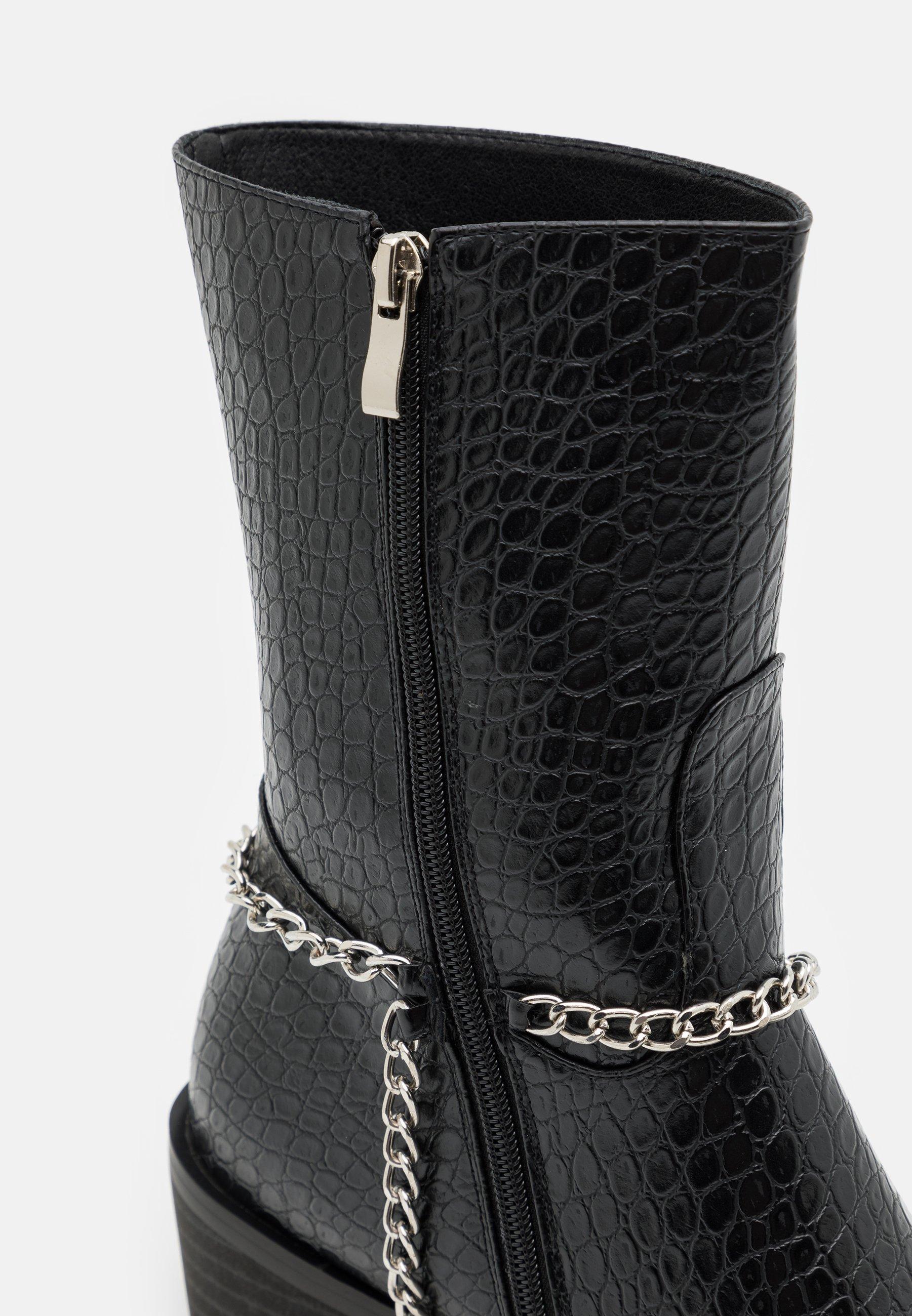 Men FALCONE - Cowboy/biker ankle boot - black